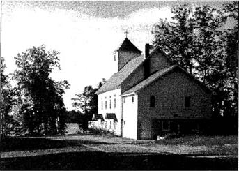 Original Building of Pioneer Lake Church